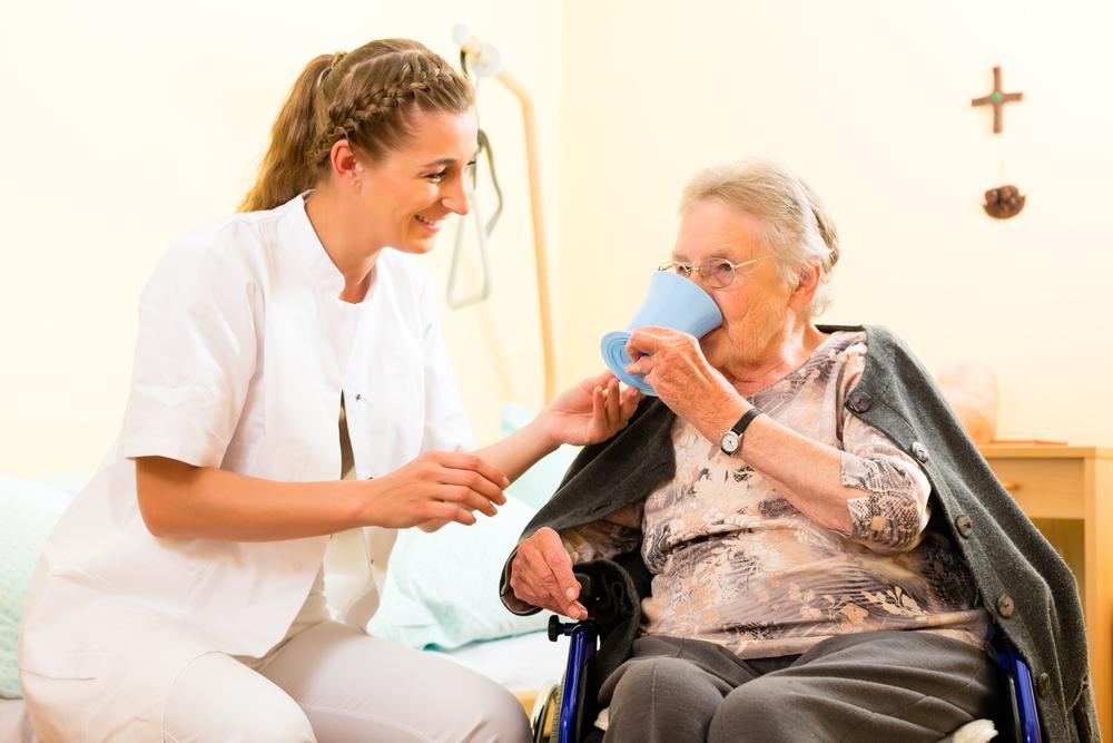 Уход и забота о пожилых людях